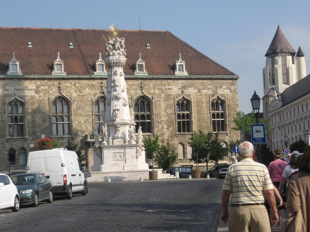 Marian and Holy Trinity column