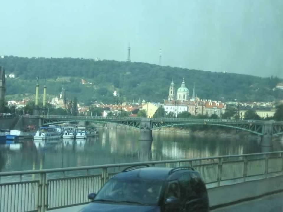 crossing over the Vitava river